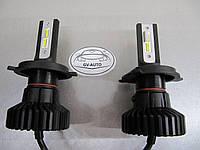 LED лампы GV-X5S ZЕЅ - h4   - комплект 2 шт.с терморегулятором -https://gv-auto.com.ua, фото 1