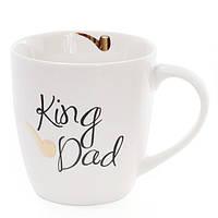 Чашка фарфоровая King Dad 0,52 л. 31364