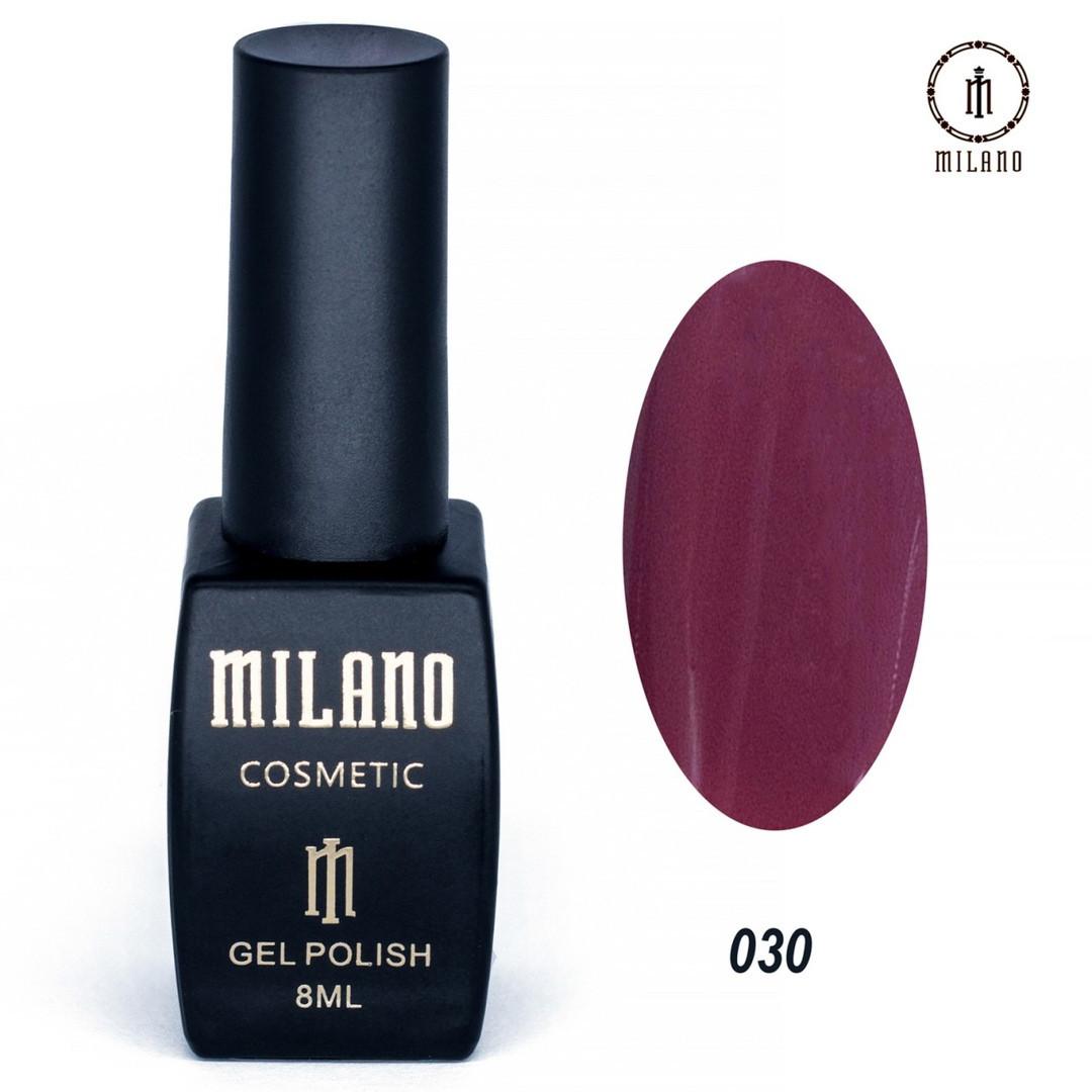 Гель-лак Milano 8 мл, № 030