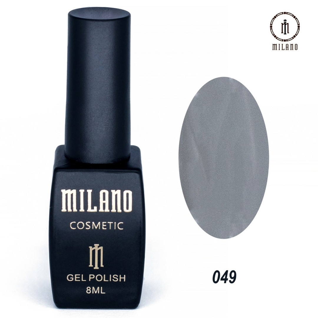Гель-лак Milano 8 мл, № 049