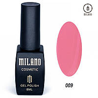 Гель-лак Milano 8 мл, № 009