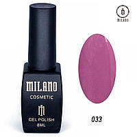 Гель-лак Milano 8 мл, № 033