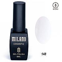 Гель-лак Milano 8 мл, № 148