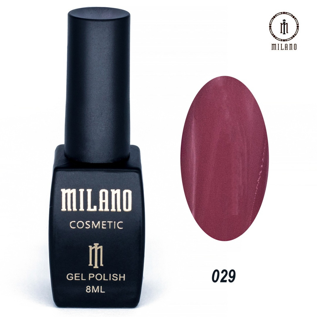 Гель-лак Milano 8 мл, № 029