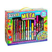 Ароматный набор для творчества - МЕГАКРЕАТИВ (фломастеры, карандаши, ручки, маркеры, наклейки), фото 1