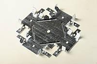 Соединитель крестообразный кронштейн (краб) 0,65мм