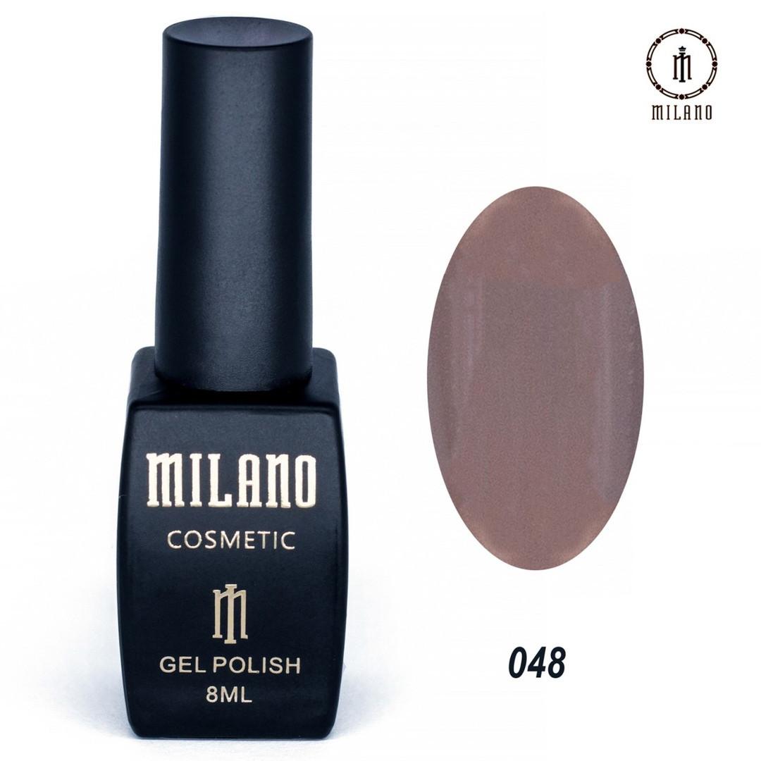 Гель-лак Milano 8 мл, № 048