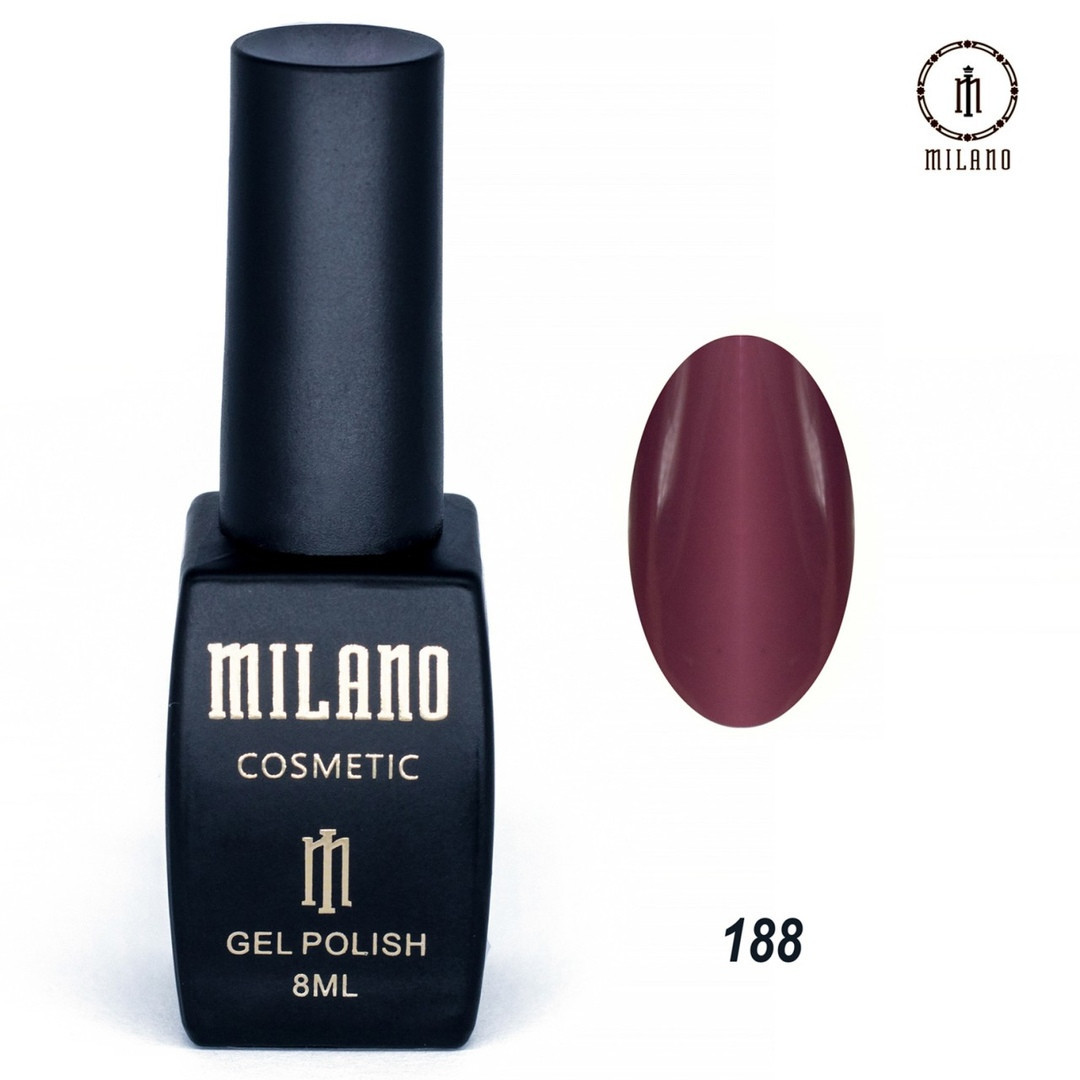Гель-лак Milano 8 мл, № 188