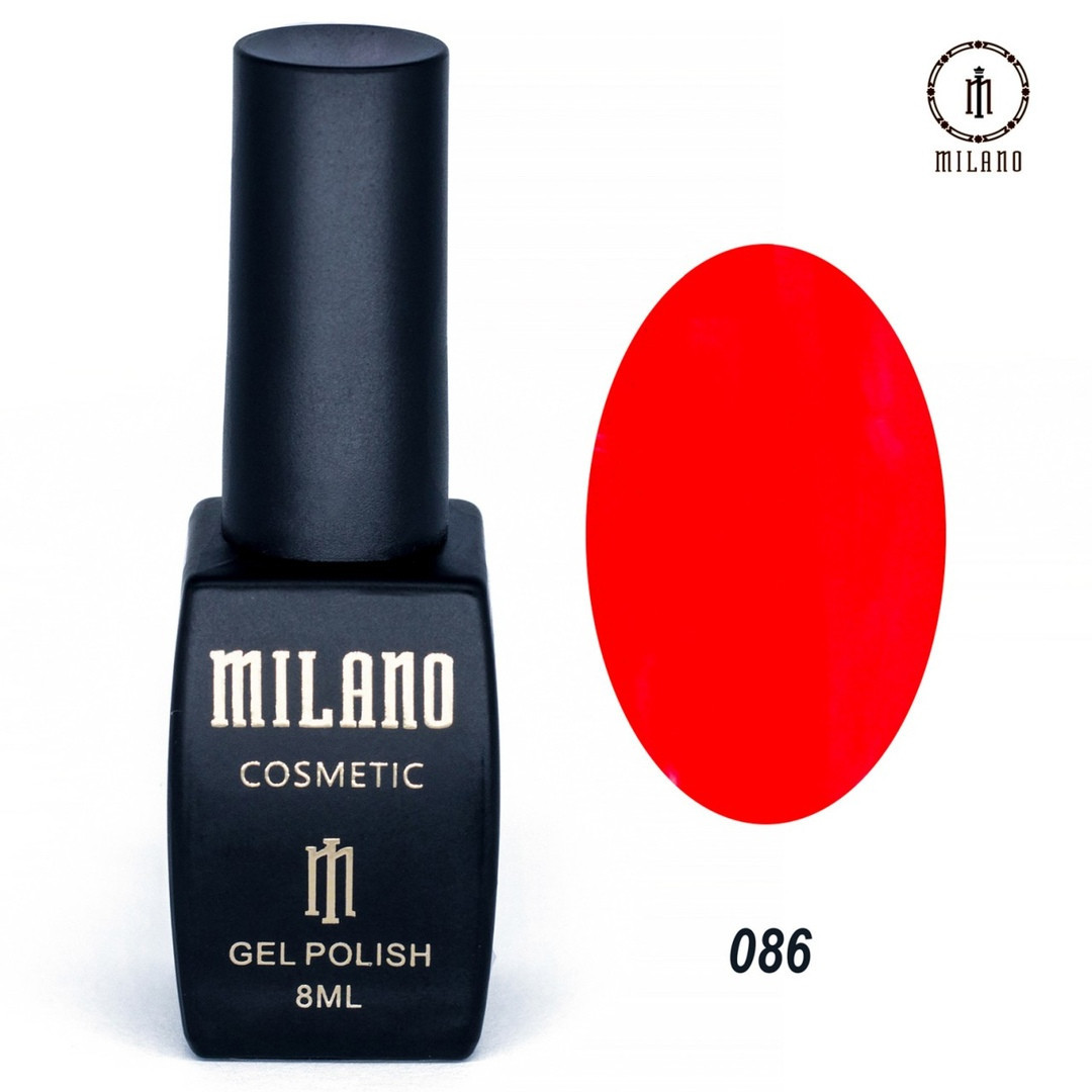 Гель-лак Milano 8 мл, № 086