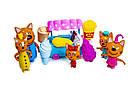 """Игровой набор фигурки Три кота с аксессуарами """"Магазин Мороженного"""" 5 в 1   , фото 2"""