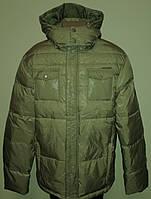 Куртка-Пуховик чоловіча оливкова XL «Zuelements» (Італія)