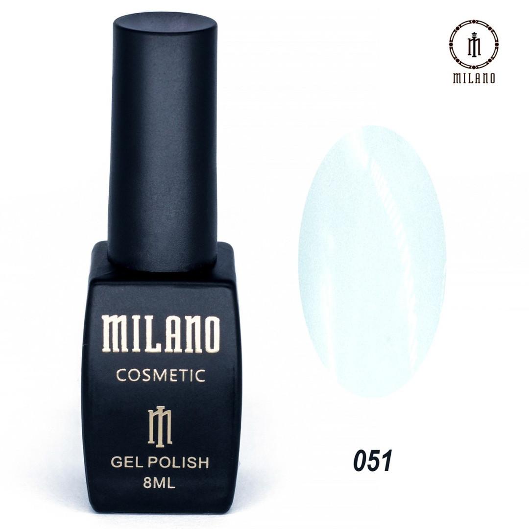 Гель-лак Milano 8 мл, № 051
