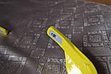 Мото захист рук ударостійка з кріпленням на кермо 22мм (жовта) варіант 4, фото 4