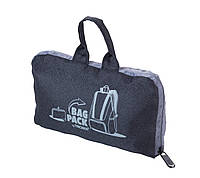 "Рюкзак складаний ""BAGPACK"", чорний, фото 1"