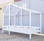 Детская подростковая кровать Домик, Чердак кровать,двухъярусная кровать,подростковая кровать, фото 2