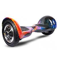 """Гироскутер Smart Balance Wheel10"""" i10  №2 Космос желтый, синий (АКБ Samsung) APP+BT"""