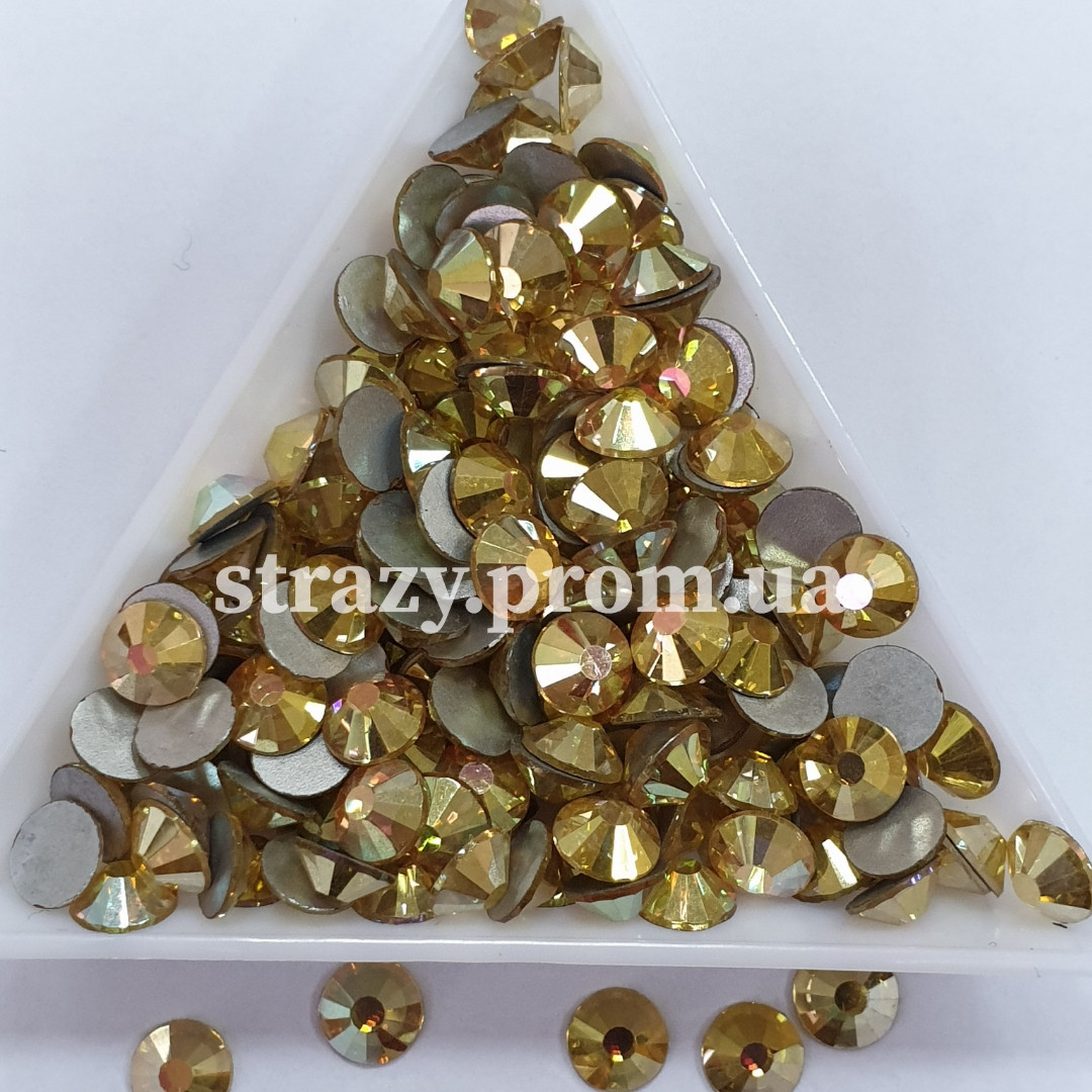 "Стрази ss30 Suneshine (Gold Dream) (6.5 мм) 50шт ""Crystal Premium"""
