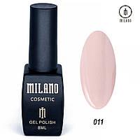Гель-лак Milano 8 мл, № 011