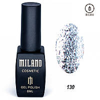 Гель-лак Milano 8 мл, № 130