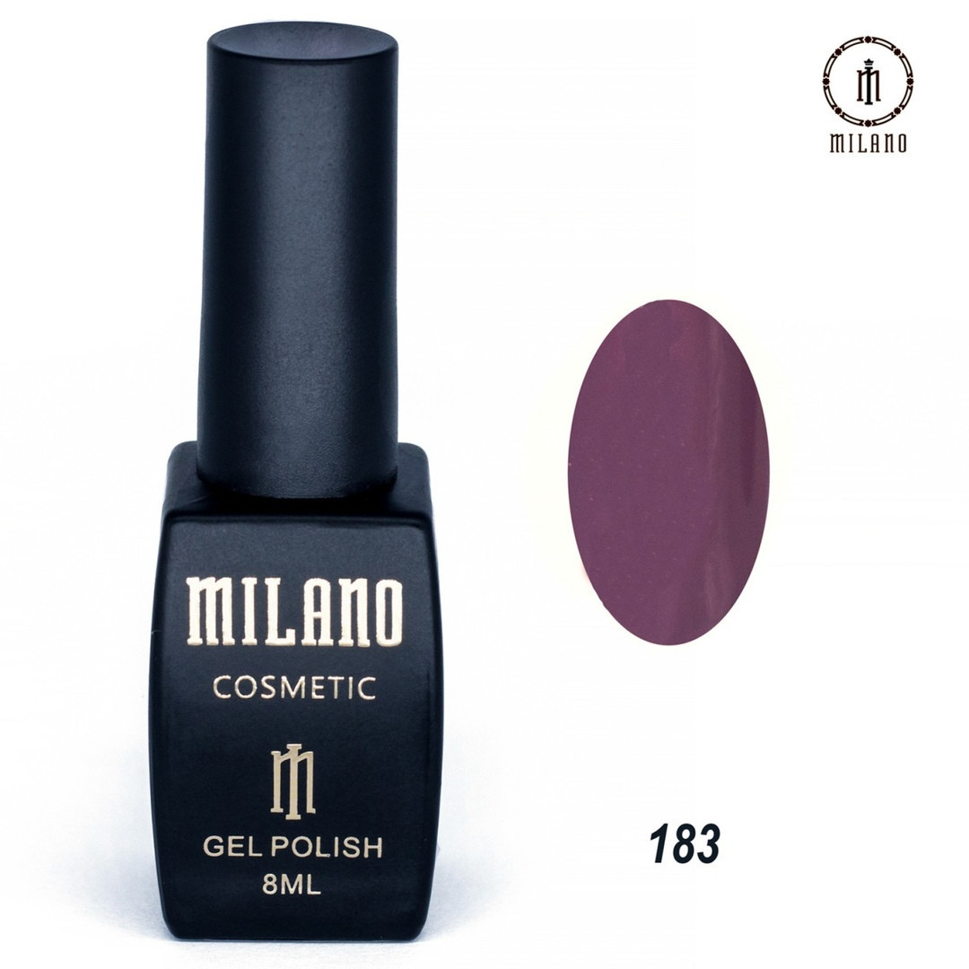 Гель-лак Milano 8 мл, № 183