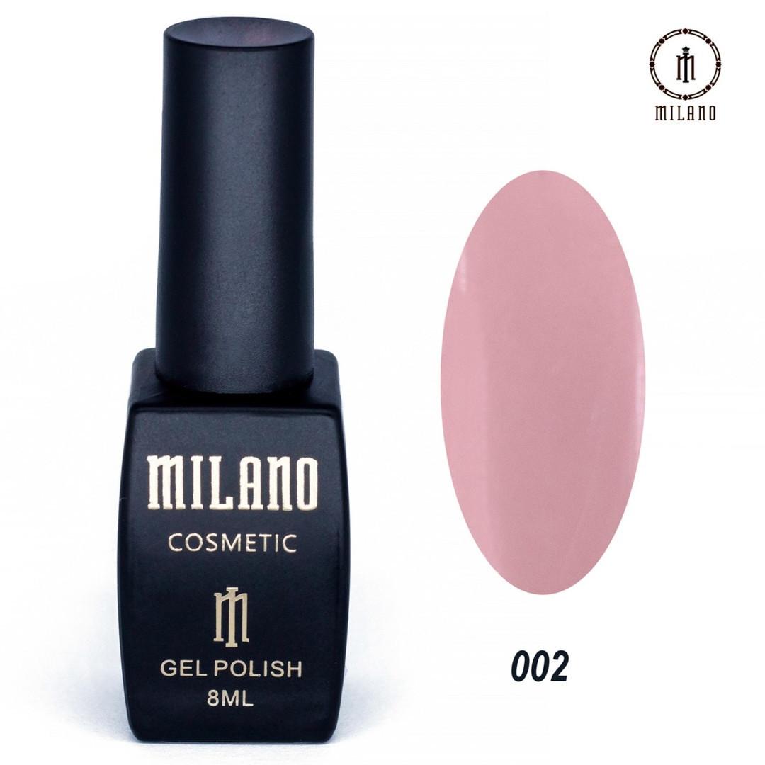 Гель-лак Milano 8 мл, № 002