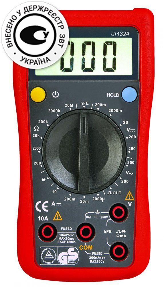 Мультиметр (тестер) UNI-T UTM 1132A (UT132A)