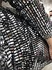 Шикарное серебристое платье Luxury Ткань с серебристыми Прямоугольниками Размер С/М. (10307), фото 3