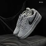 Чоловічі кросівки Nike Air Force 1 07 Mid LV8 (сірі) ЗИМА, фото 2