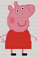 """Набор алмазной вышивки (мозаики) """"Свинка Пепе"""""""