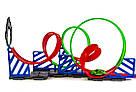 Трек Хот Вилс с машинками Hot Wheels Четыре Кольца , фото 2