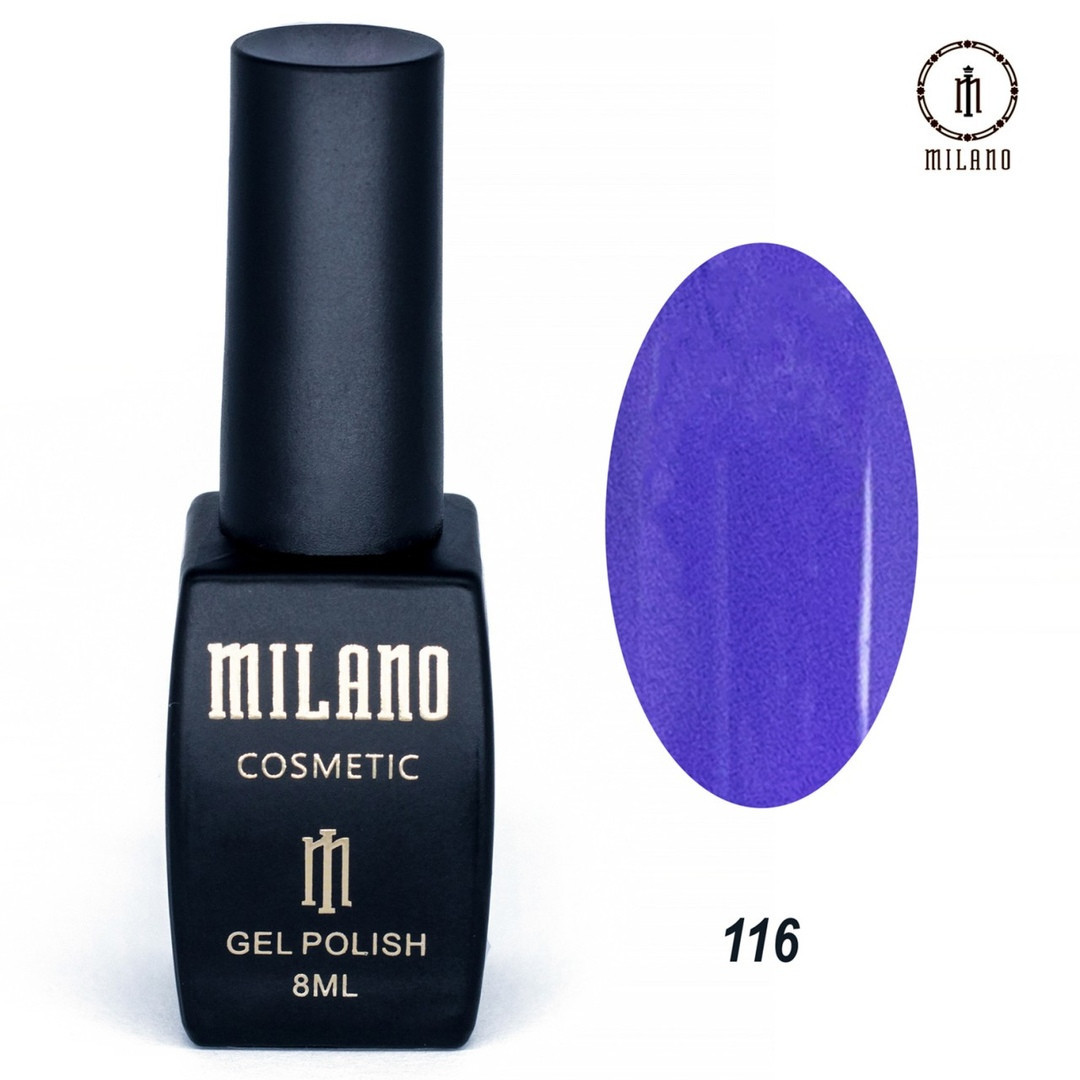 Гель-лак Milano 8 мл, № 116