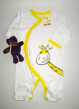 Комбинезон для новорожденных, человечки, для грудничков, для детей