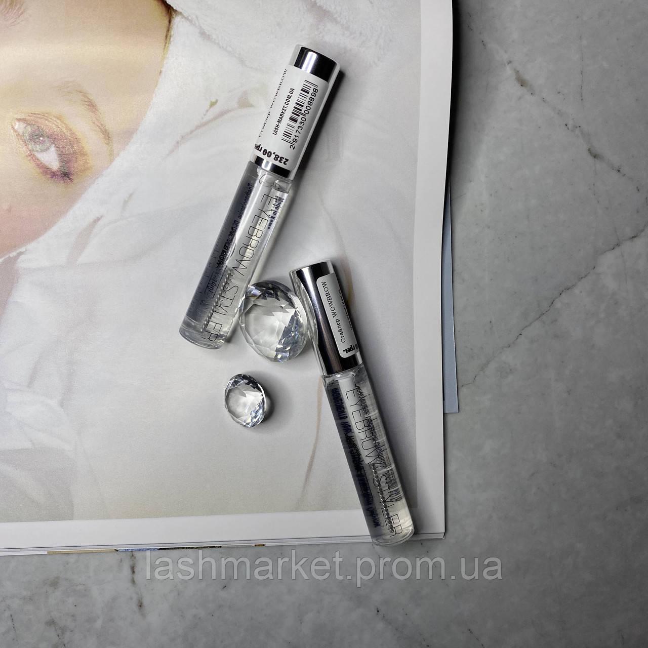Закріплювач-гель(стайлер) для брів нарощених вій