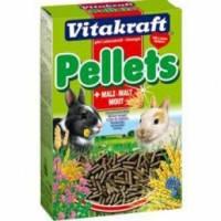Vitakraft PELLETS гранулированный корм для кроликов с солодом, 1кг