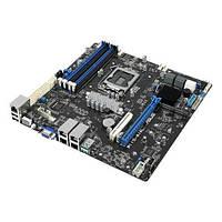 P11C-M/4L Материнская плата серверная ASUS P11C-M/4L s1151 C242, 4xDDR4, M.2 mATX, P11C-M/4L