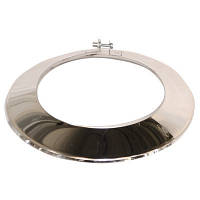 Окапник d 160 мм из нержавеющей стали, фото 1
