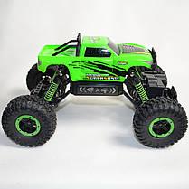 Джип на радио управлении машинка внедорожник модель 4x4 Climber Crawler зелёный 1:18, фото 2