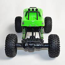 Джип на радио управлении машинка внедорожник модель 4x4 Climber Crawler зелёный 1:18, фото 3