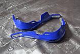Мото захист рук ударостійка з кріпленням на кермо 22мм (синя) варіант 7, фото 2