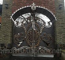 Ворота кованые (MS-VKR-011-K)