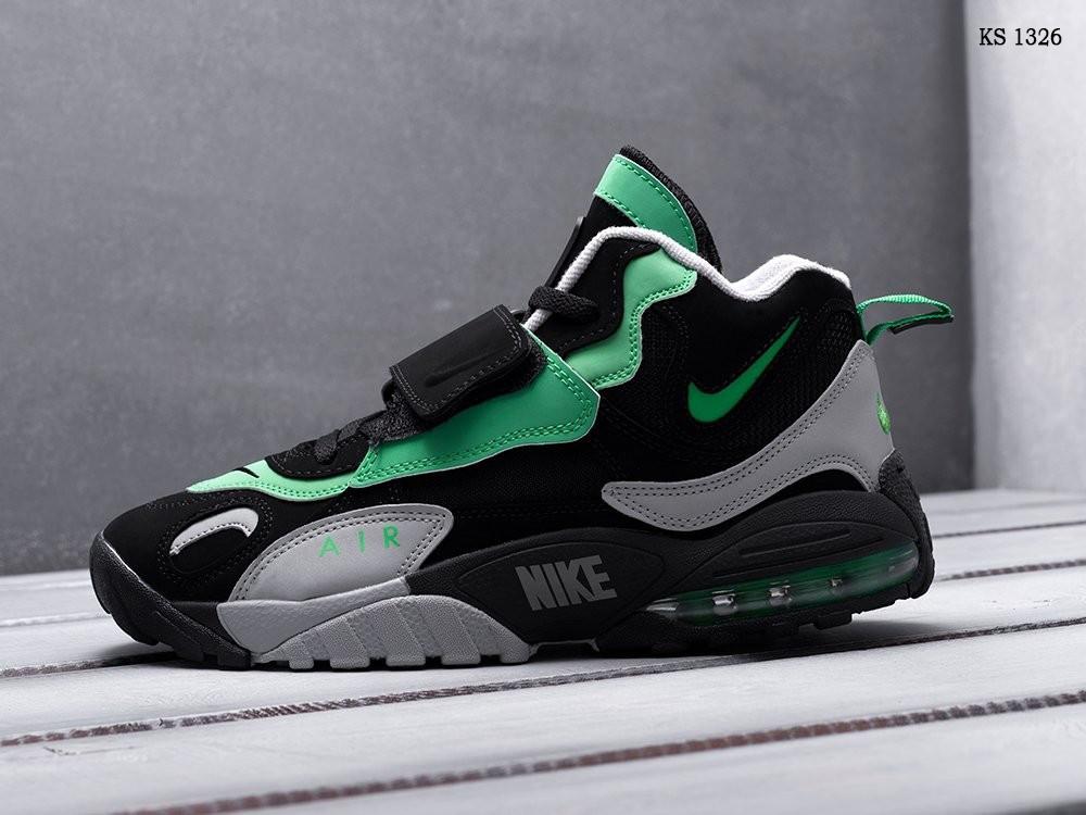 Чоловічі кросівки Nike Sportswear Air Max Speed Turf (сіро/зелені)