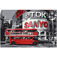 """Картина на холсте """"London Piccadilly"""", 80х120 см"""