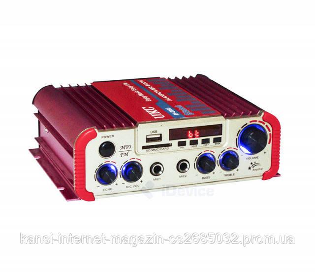 Підсилювач потужності звуку AMP AV 206 BT