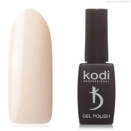 Гель лак Kodi  №01M, цвет слоновой кости