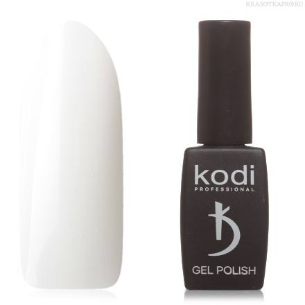 Гель лак Kodi  №01BW, белый