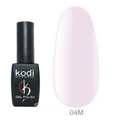 Гель лак Kodi  №04М, бело-розовый