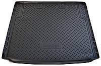 Коврик в багажник для БМВ, BMW X1 (E84) (09-) полиуретановый NPL-P-07-60