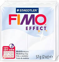 Пластика Effect, Белая Полупрозрачная, 57г, Fimo 8020-014