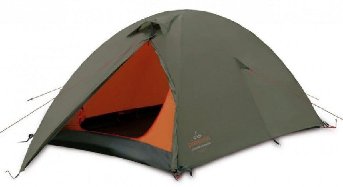 Палатка Pinguin - Scout Green 2-3х местная (PNG 132)