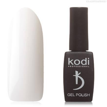 Гель лак Kodi  №10BW,белый